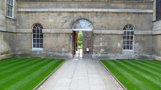 The gatehouse, Worcester College, Oxford