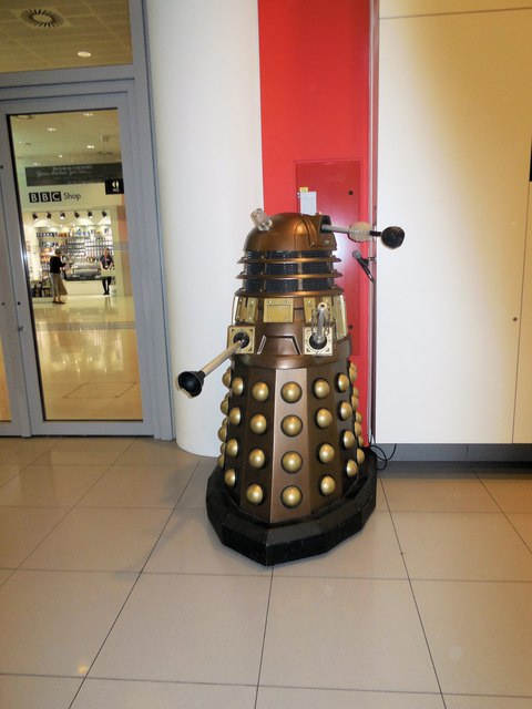Dalek in Broadcasting House