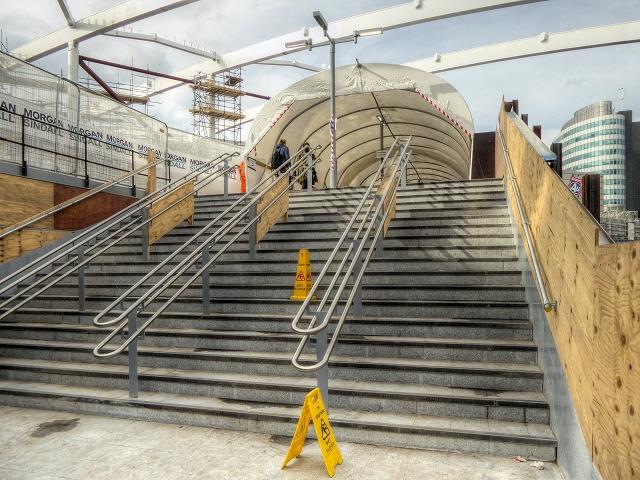 Manchester Victoria Redevelopment - New Footbridge To Arena