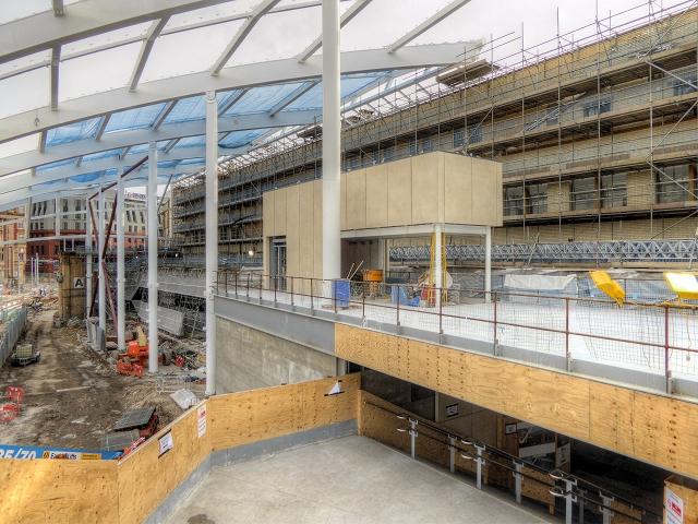 New Mezzanine Floor, Manchester Victoria Station