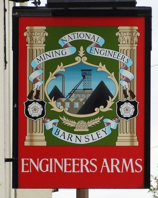 Pub sign in Higham