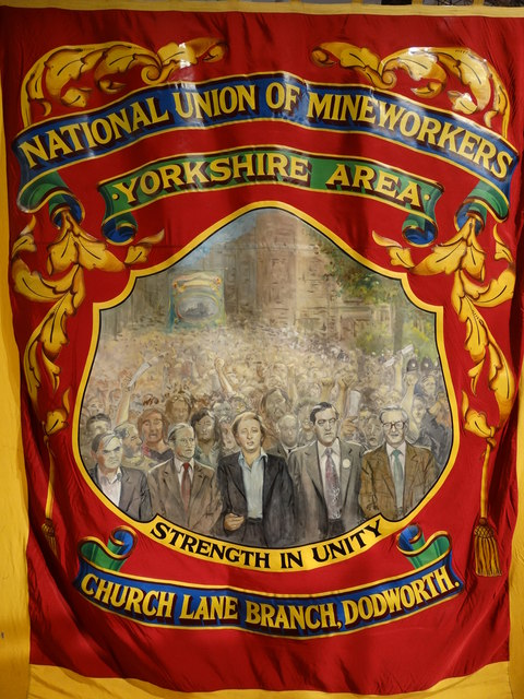 NUM Banners Exhibition at Barnsley Civic Theatre (II)