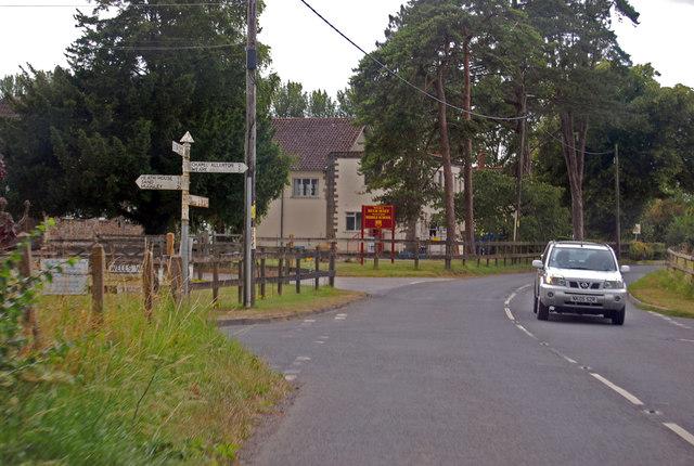 Crossroads on B3139