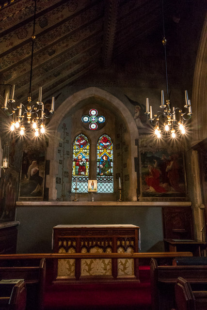 Lady Chapel, Christchurch, Waterfall Road, Southgate, London N14