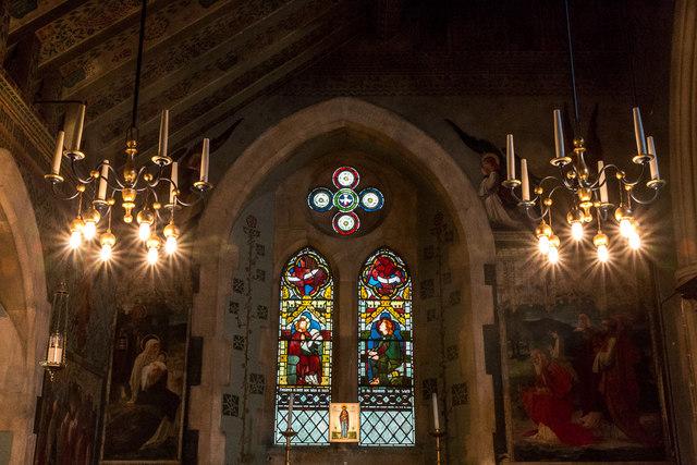 Lady Chapel, Christchurch, Waterfall Road, Southgate, London N14