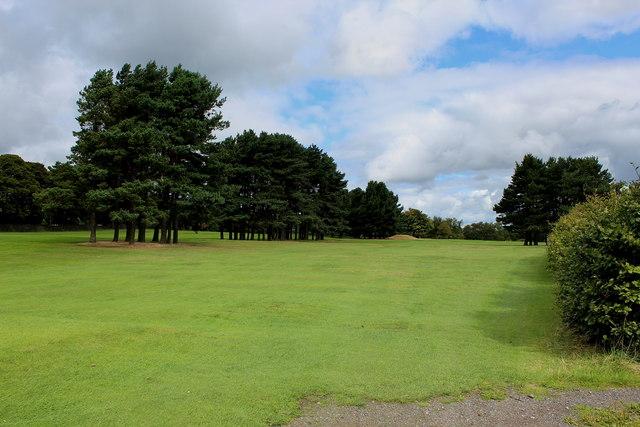 Hole 3, West Bradford Golf Club