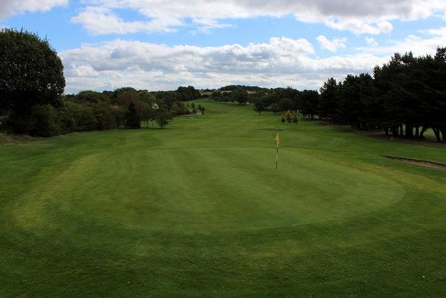 18th Green, West Bradford Golf Club