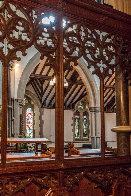 Lady Chapel, Christchurch, Southgate, London N14