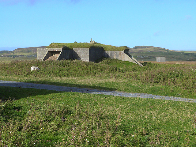 World War II bunker at Saligo