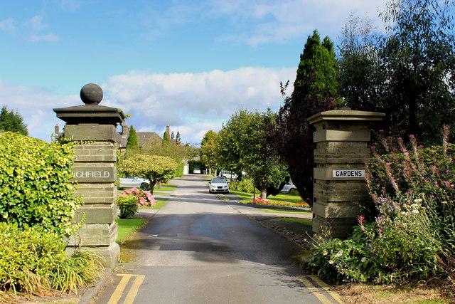 Entrance to Highfield Gardens