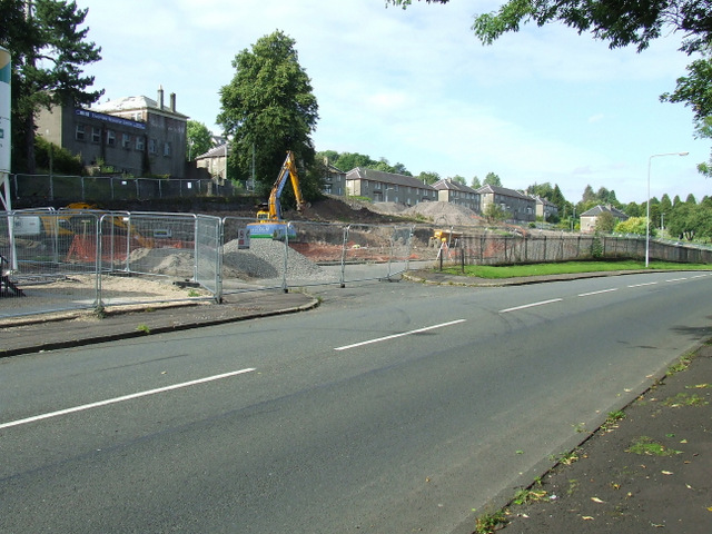 Woodhall Terrace building site