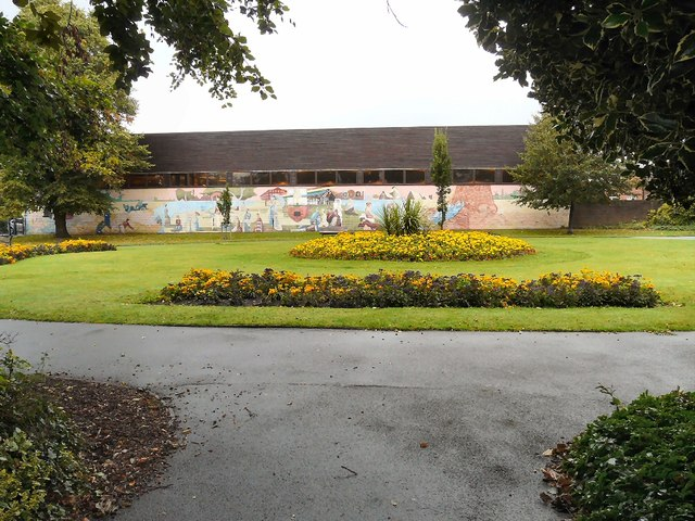 Victoria Park Gardens and Mural