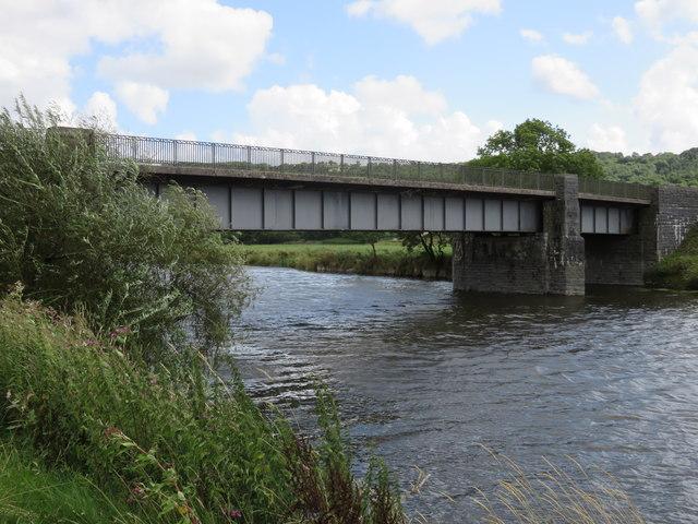 Dryslwyn Bridge over the River Tywi