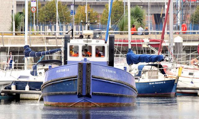 "The ""Victoria"", Belfast (September 2014)"