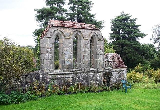 Preceptory near Stydd Hall