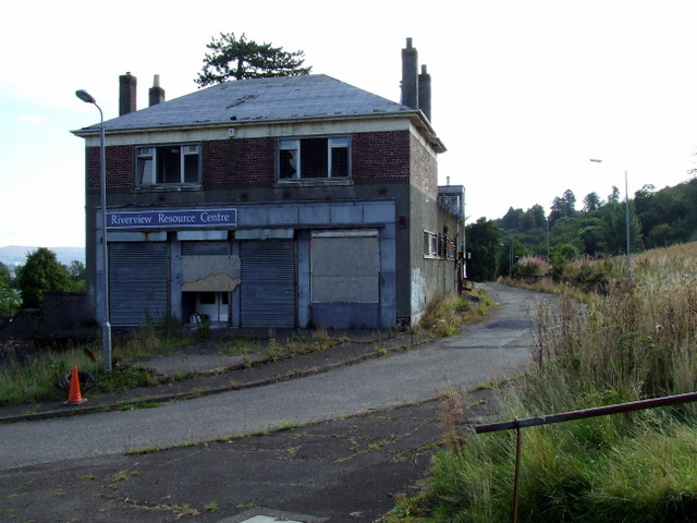 Former Woodhall Co-op store