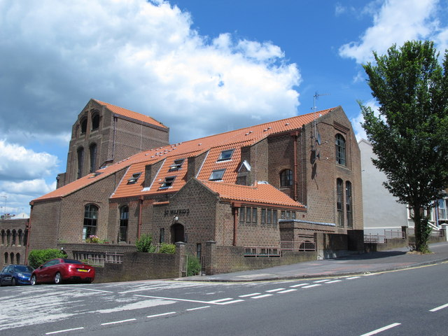 (The former) St. Wilfrid's Church, Elm Grove / Whippingham Road, BN2