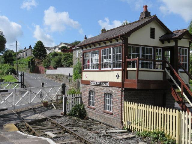 Bronwydd Arms Station Signal Box