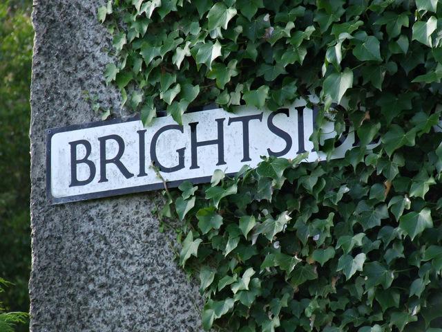 Brightside Avenue sign