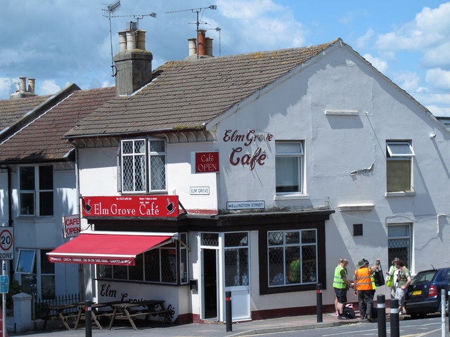The Elm Grove Café, Elm Grove / Seville Street, BN2