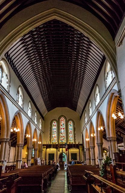Church Interior, Christchurch, Southgate, London N14