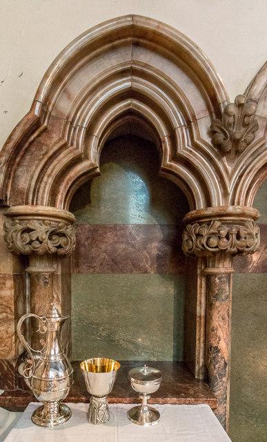 Communion Table, Christchurch, Waterfall Road, Southgate, London N14