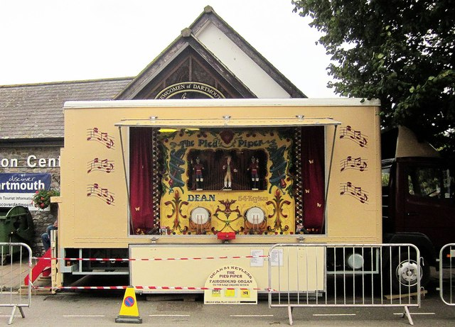 Fairground organ, Dartmouth