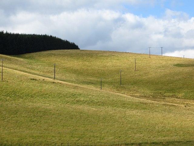 Power line, Glenholm