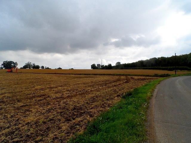 Farmland adjacent to Peasenhall Road