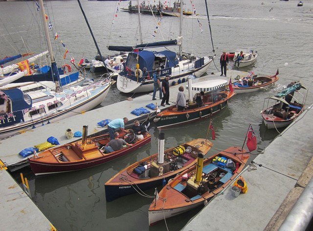 Steam boats, Dartmouth Regatta
