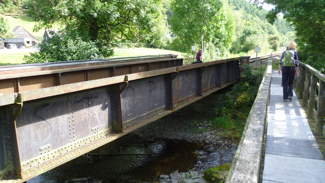 DJ Storm's bridge near Knighton