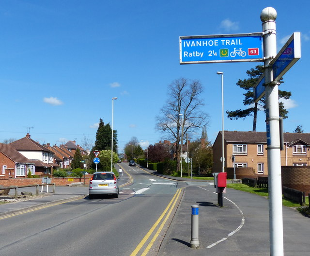 Station Road in Glenfield