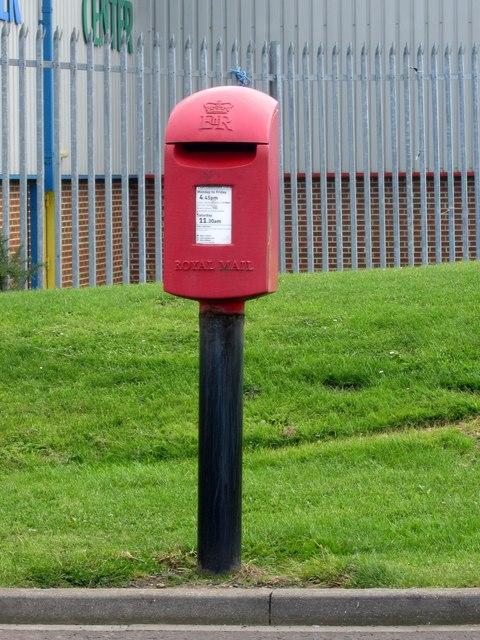 Postbox, Lionheart Enterprise Park, Alnwick