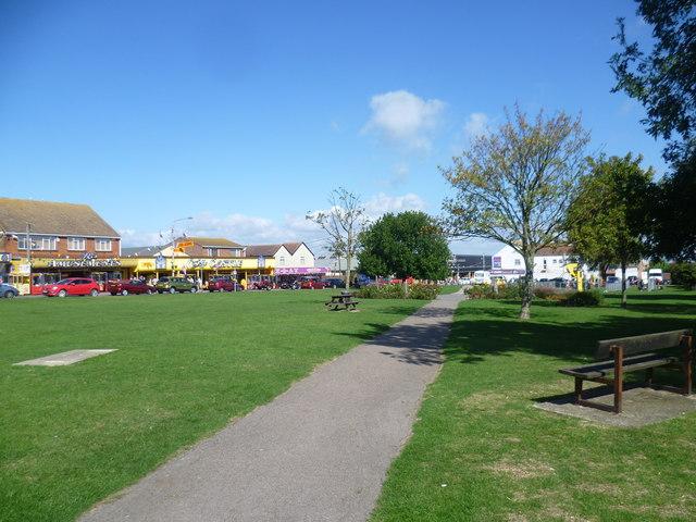 The centre of Leysdown-on-Sea