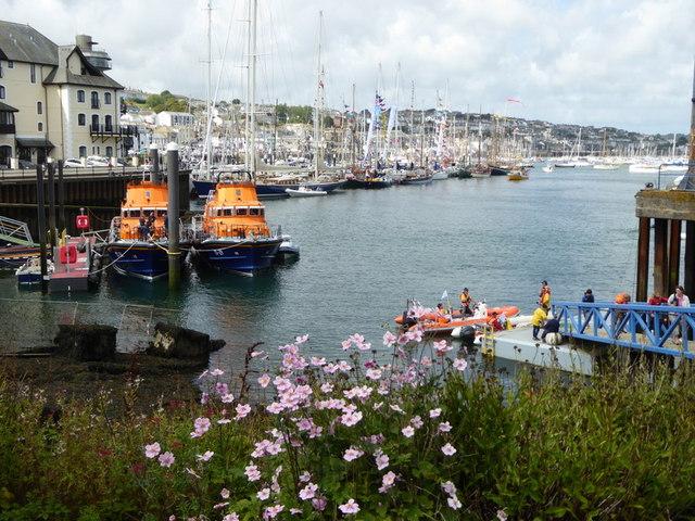 Lifeboats at Falmouth Lifeboat Station