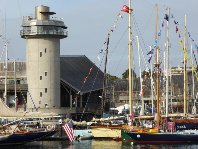 The tower of the National Maritime Museum Cornwall