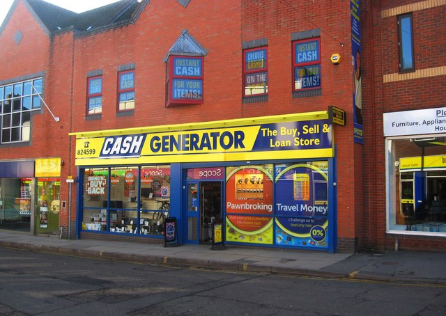 Cash Generator, 58-59 Worcester Street, Kidderminster