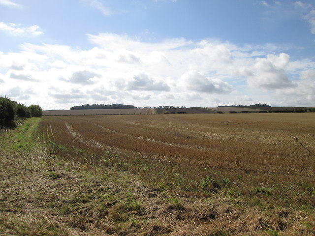 Stubble  field  alongside  B1248