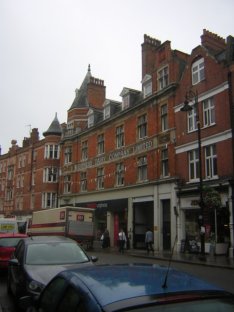 Former Express Dairy, Heath Street, Hampstead