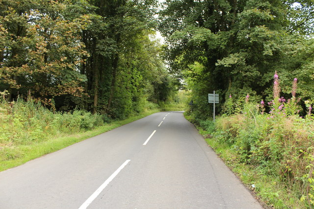 Road to Stair near Millerston