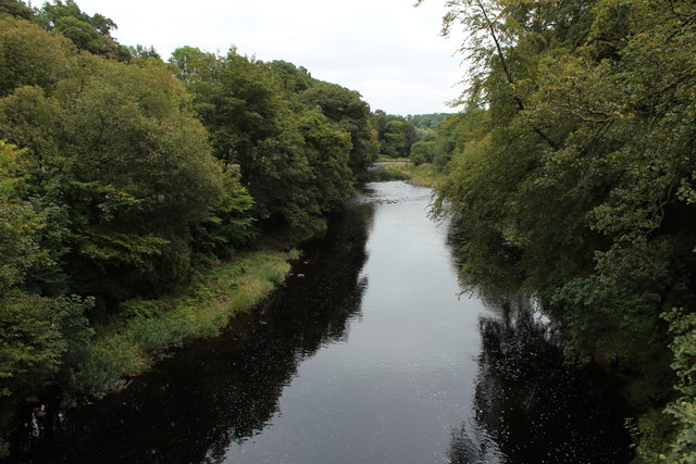 River Ayr near Mauchline
