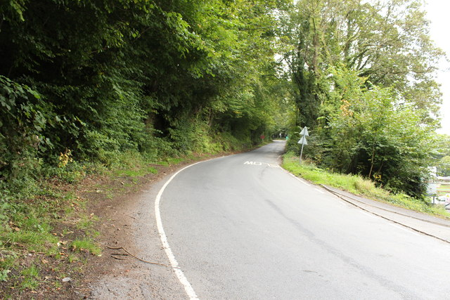 Barskimming Road near Mauchline