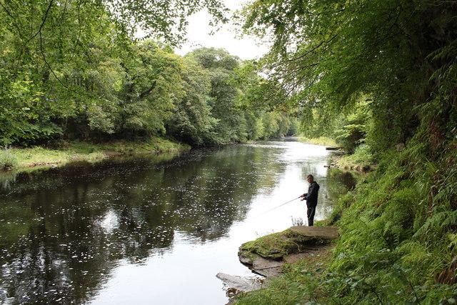 River Ayr near Mauchline