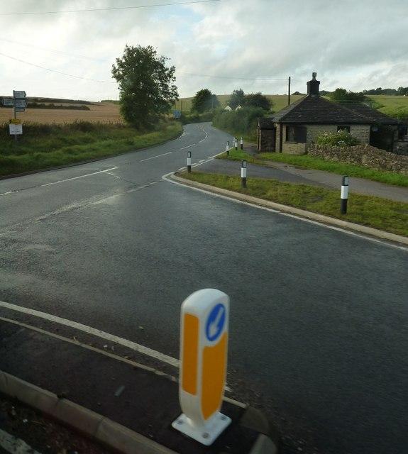 Road junction near Bream