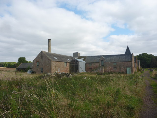 Rural East Lothian : Farm Steading At Papple