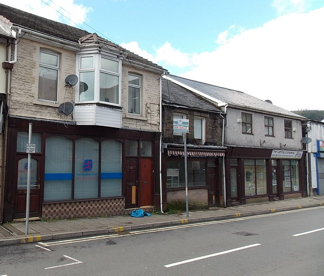 Bridgend People First office in Pontycymer