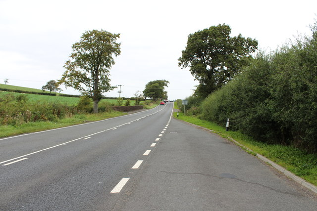 Road to Mauchline near Kenstey