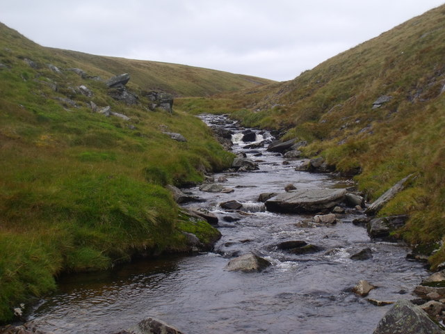 Upstream on the Caochan Dubh in the Eidart system, Glenfeshie