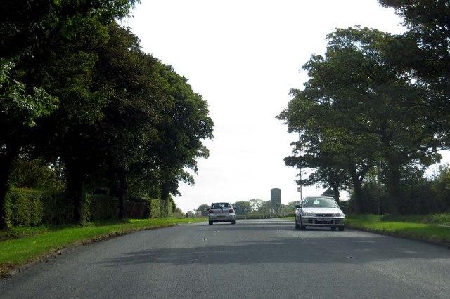 Garstang Road in Little Ecclestone
