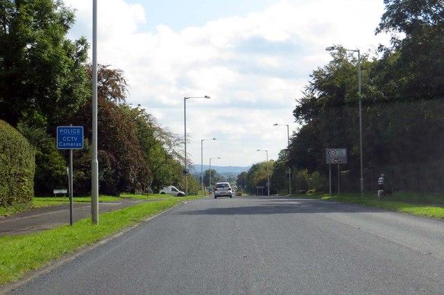 Garstang Road through Little Ecclestone